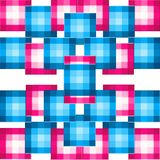 Block patterns background Stock Photography