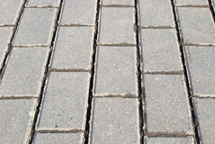 Block pavement texture. Stone block pavement. background texture Stock Photography