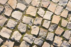 Block pavements Royalty Free Stock Photo