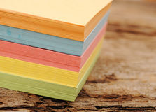 Block of post-it notes Stock Photography