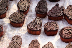 Block printing dyes Stock Images
