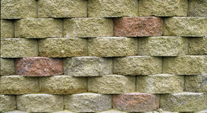 Block Retaining Wall Stock Photos