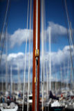 Block from the sailing ship Royalty Free Stock Images
