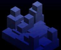 Block shapes Stock Image