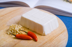 Block of soft Tofu Royalty Free Stock Photography