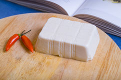 Block of soft Tofu Stock Photography
