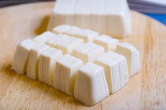 Block of soft Tofu Stock Images