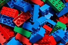 block som bygger barn s Royaltyfri Bild