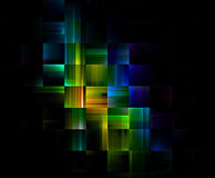 block som bygger heltäckande Arkivbild