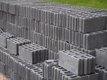 block som bygger nytt under för konkret konstruktion Royaltyfria Foton