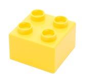 block som bygger plast- Royaltyfri Fotografi