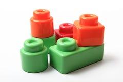 block som bygger toys Royaltyfria Bilder