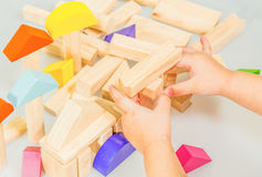 Block, Spielzeug, Vorschule Stockfotos