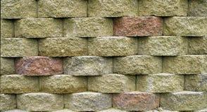 Block-Stützmauer Stockfotos