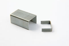 Block of Staples Stock Image