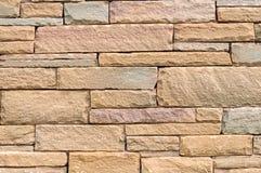 Block-Steinwand-Hintergrund Stockfotos