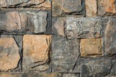 Block-Steinwand-Hintergrund Stockbilder
