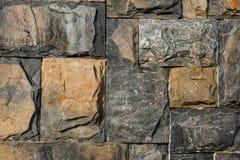 Block-Steinwand-Hintergrund Stockbild