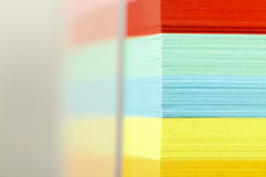 Block of sticky notes Stock Photos