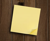 Block of sticky notes. Stock Photos