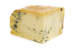 Block of Stilton Cheese Stock Photos