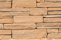 Block Stone Wall Background Royalty Free Stock Photos