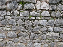Block stone wall Royalty Free Stock Images