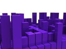 Block structure Royalty Free Stock Images