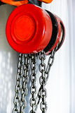 Block and tackle Stock Image