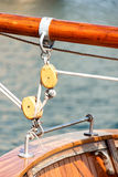 Block and tackle Royalty Free Stock Photos