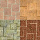 Block texture vol.1 Stock Photography