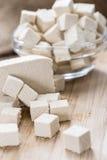 Block of Tofu stock photo