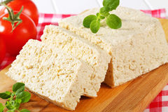 Block of tofu Royalty Free Stock Images