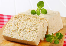 Block of tofu Royalty Free Stock Photo
