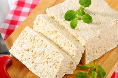 Block of tofu Royalty Free Stock Photography