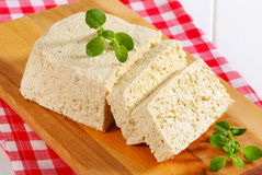 Block of tofu Royalty Free Stock Image