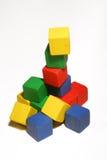 Block tower stock photo