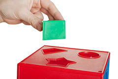 Block toy Stock Image