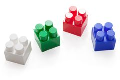 Block toy Royalty Free Stock Photos