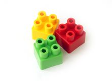 Block toy Royalty Free Stock Photo