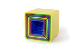 Block Toy. Color Block Toy for Kids Stock Photo