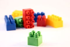 Block toys Royalty Free Stock Photos