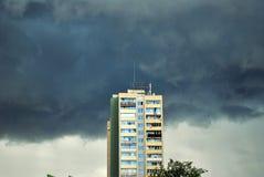 Block und thunderheads Lizenzfreie Stockbilder