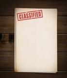 Block von alten Papieren Lizenzfreies Stockfoto