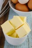 Block von Butter Lizenzfreie Stockfotos