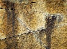 Block von Sandsteinfelsen Lizenzfreie Stockbilder