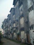 Block von Wohnungen Stockfoto