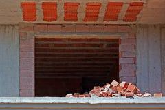 Block von Wohnungen im Bau Lizenzfreie Stockbilder