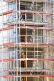 Block von Wohnungen im Bau Stockfoto