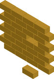 Block wall Royalty Free Stock Photo